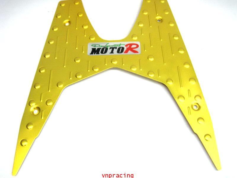 แผ่นวางเท้า คลิกไอ CLICK-I อลูมีเนียม2 สีทอง (เลิกผลิต)