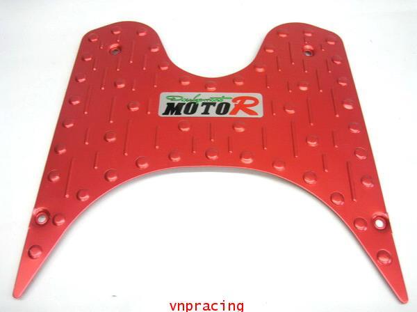 แผ่นวางเท้า คลิกไอ CLICK-I อลูมีเนียม2 สีแดง. (เลิกผลิต)