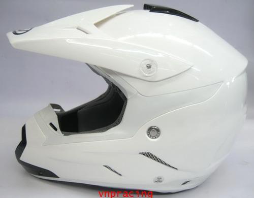 หมวกกันน๊อกวิบาก REAL CREEK สีขาว ใหม่ล่าสุด 2011 (เลิกผลิต)