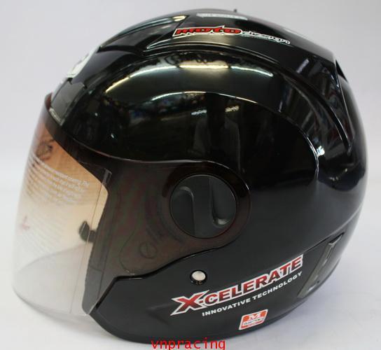 หมวกกันน็อค rider รุ่น JZ-1 สีดำ