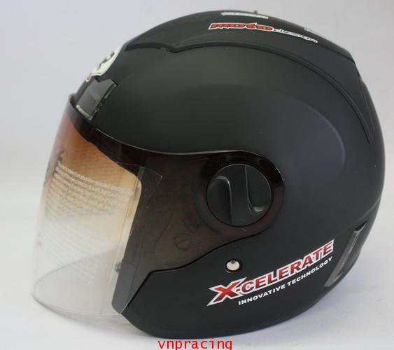 หมวกกันน็อค rider รุ่น JZ-1 สีดำด้าน