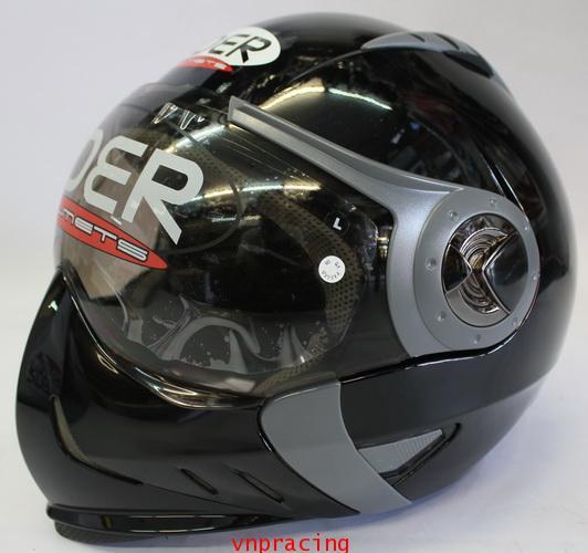 หมวกกันน็อค rider รุ่น Spider สี ดำ (เลิกผลิต)
