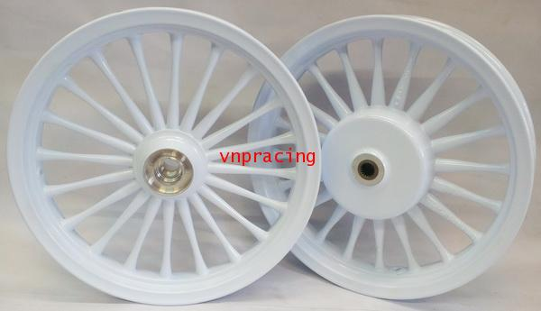 ล้อแม็ก RACING BOY รุ่น SP920 FINO MIO สีขาว