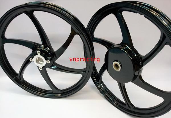 ล้อแม็ก Daichi แม็กไดอิจิ ลาย Racing 68 สีดำ YAMAHA AUTOMATIC