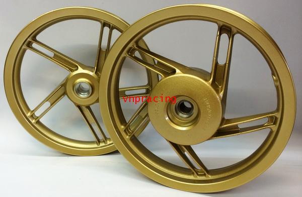 ล้อแม็ก DKK ลายแบบแท้เดิม PCX สีทอง ( สินค้าหมด)