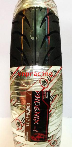 ยางนอก Quick GR390 100/80-17,120/70-17,130/70-17 TL ไม่ใช้ยางใน ดูราคาด้านใน