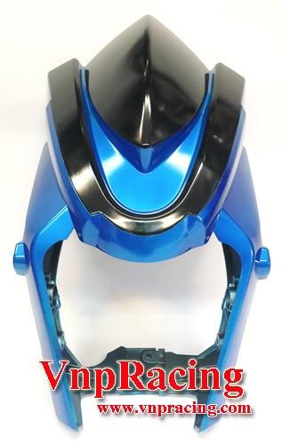 ชิวหน้าหุ้มคาง MSX-125 SF2016 สีน้ำเงิน แบบ2