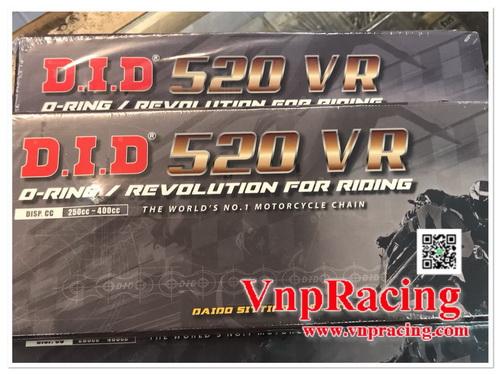 โซ่ DID 520 VR O-RING 120STEEL นำเข้า