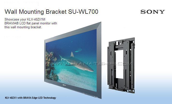 ขาแขวนทีวี Sony Slim Wall Mount รุ่น SU-WL700