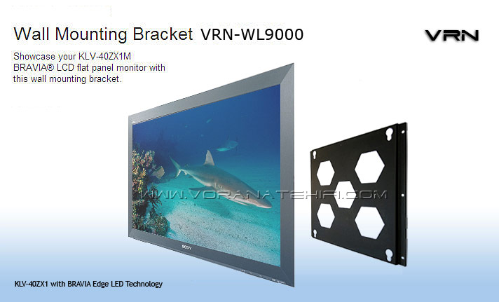 VRN Extra Slim Wall Mount รุ่น WL9000