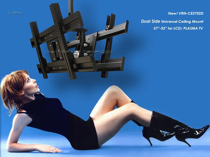 ขาแขวน LCD,LED,PLASMA TV ติดเพดาน รุ่น VRN-CE3752D