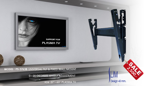 ขาแขวน PLASMA TV 37-80 นิ้ว_VRN-PS3763B