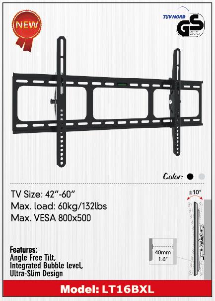 ขาแขวน LCD,LED TV 42 - 60 นิ้วแบบก้มหน้าจอได้รุ่น VRN-LT16BXL