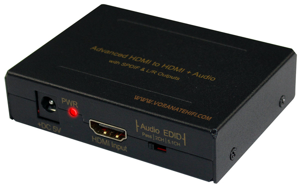 5.1ch Premium HDMI Digital Audio Extractor Converter