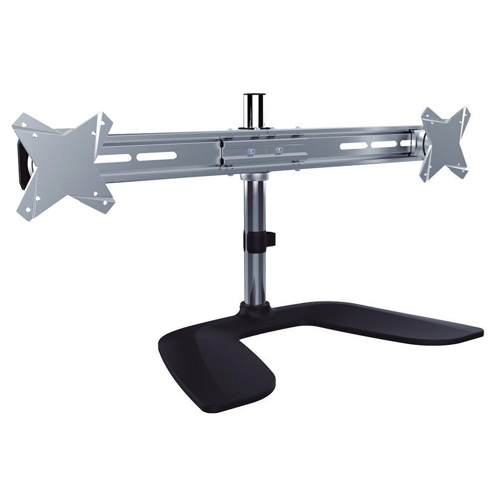 MT-D100 ขาตั้งจอคอม ขายึดจอคอม แขนจับจอ Monitor แขนจับจอคอม 2 จอสำหรับขนาด 13-27 นิ้ว