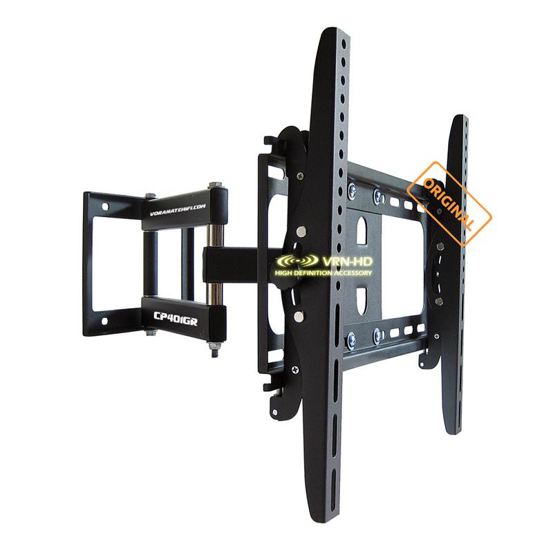 VRN-HD ขาแขวนทีวี 26 - 55 inch LED/LCD TV Full Motion Single-Arm CP401GR (dark gray)