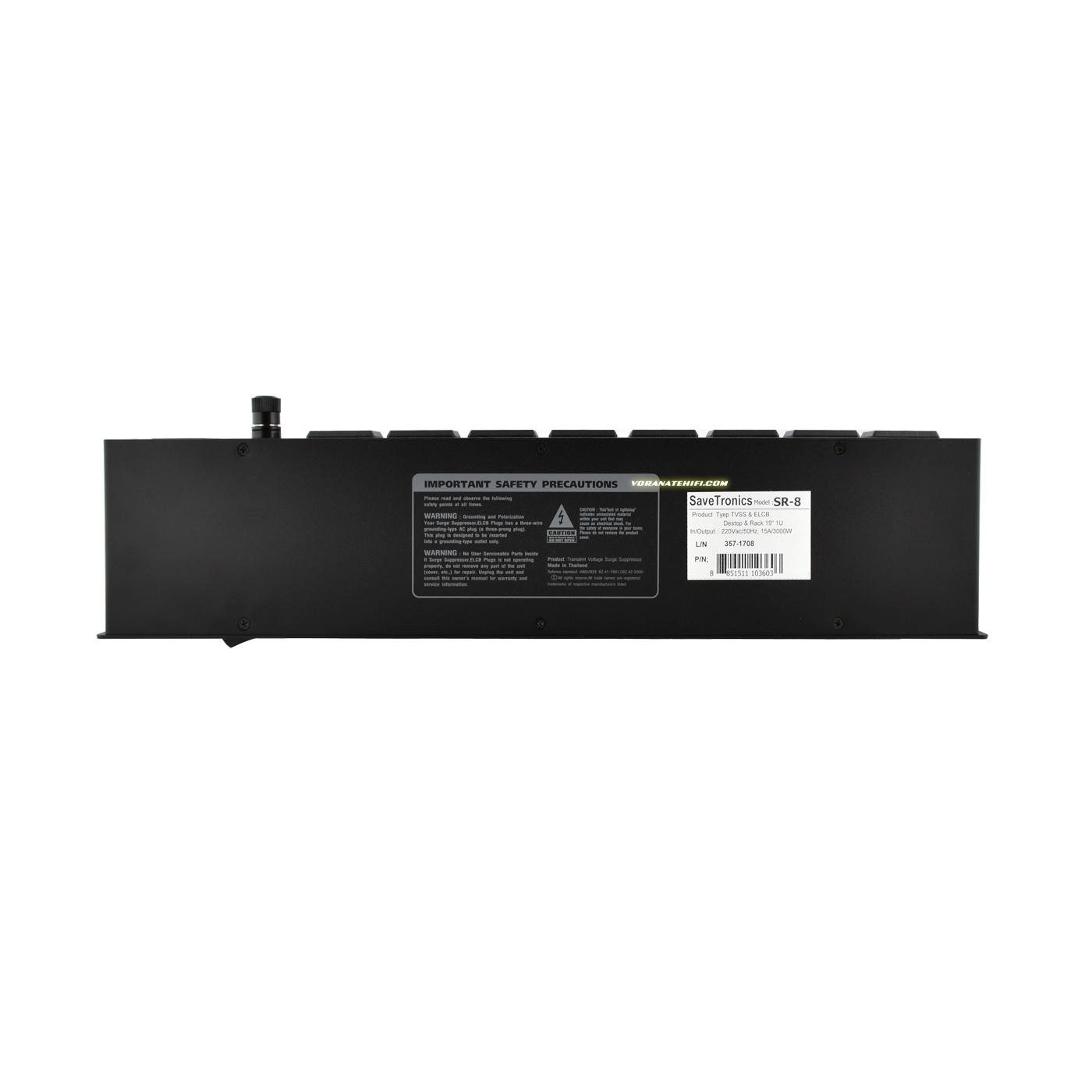 SurgeGuard All New SR-8+HDMI V2.0 รางปลั๊กไฟ เครื่องกรองไฟ กันไฟกระชาก 1