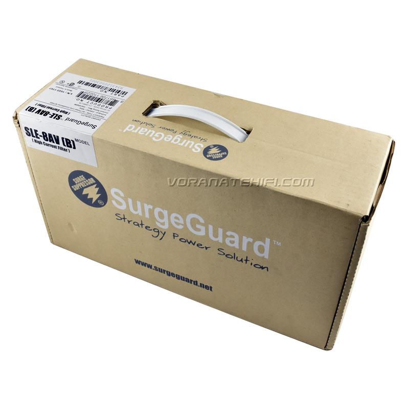 SurgeGuard SLE-8AV Top Class เครื่องลดทอนไฟกระชากและสัญญาณรบกวนด้วยระบบ Tri-Core Noise Filter 6