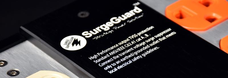 SurgeGuard SLE-8AV Top Class เครื่องลดทอนไฟกระชากและสัญญาณรบกวนด้วยระบบ Tri-Core Noise Filter 7