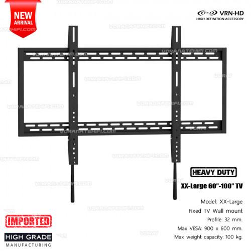 2019-2020 New T5000 XX-Large ขาแขวนทีวี 60-100 นิ้ว Heavy-Duty Fixed TV Wall Mounts
