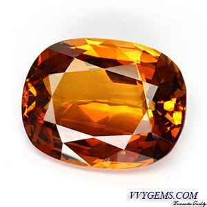 [GIT CERTIFIED]บุษราคัม(Yellow Sapphire) 23.15 กะรัต เม็ดใหญ่ สีแม่โขงเข้มสวย[VDO]