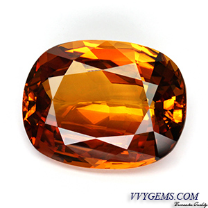 [GIT CERTIFIED]บุษราคัม(Yellow Sapphire) 23.15 กะรัต เม็ดใหญ่ สีแม่โขงเข้มสวย[VDO] 1
