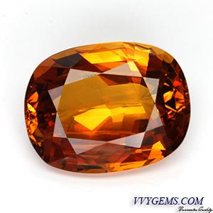 [GIT CERTIFIED]บุษราคัม(Yellow Sapphire) 23.15 กะรัต เม็ดใหญ่ สีแม่โขงเข้มสวย[VDO] 2