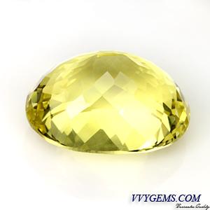 เลมอนควอตซ์ (Lemon Quartz) รูปไข่ 32.31 ct 2