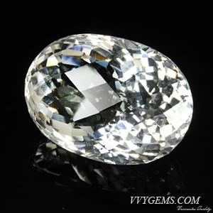 ร็อก คริสตัล (Rock Crystal) เหลี่ยมตาข่าย 68.14 กะรัต 1