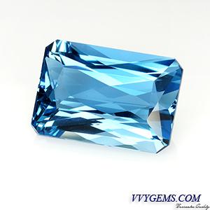 [[[BGL Certified]]]สวิสบลูโทแพซ (Swiss Blue Topaz) 25.82 ct