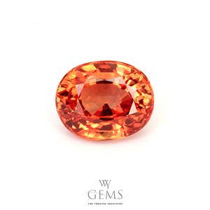 สเปสซาร์ไทต์ (Spessartite Garnet) 1.59 กะรัต สีส้มแฟนต้า