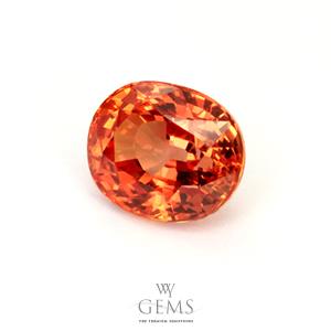 สเปสซาร์ไทต์ (Spessartite Garnet) 1.59 กะรัต สีส้มแฟนต้า 1
