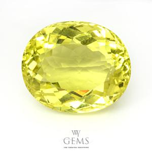 เลมอนควอตซ์ (Lemon Quartz) 23.09 กะรัต