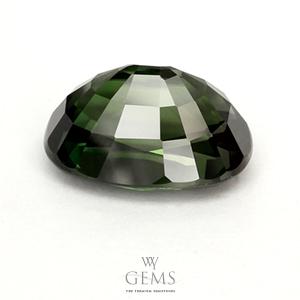เขียวส่อง(Green Sapphire) 4.43 กะรัต เขียวเข้ม 2