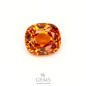 สเปสซาร์ไทด์ (Spessartite Garnet) 1.39 กะรัต สีส้มแฟนต้า