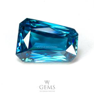 เพทาย (Blue Zircon) 6.35 กะรัต
