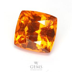 สเปสซาร์ไทด์ (Spessartite Garnet) 4.15 กะรัต สีส้มแฟนต้า คุชชั่น 1