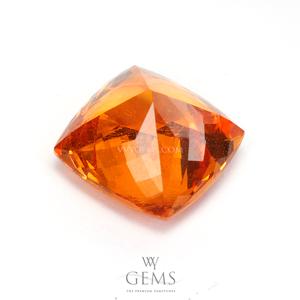 สเปสซาร์ไทด์ (Spessartite Garnet) 4.15 กะรัต สีส้มแฟนต้า คุชชั่น 2