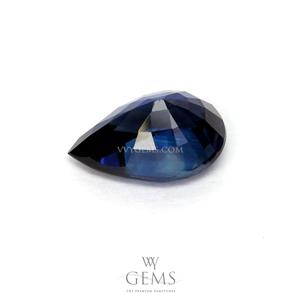 ไพลิน(Blue Sapphire) 0.90 กะรัต หยดน้ำ 2