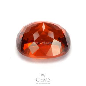 สเปสซาร์ไทด์ (Spessartite Garnet) 4.10 กะรัต สีแดงออกส้ม 2