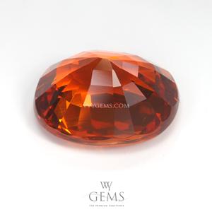 สเปสซาร์ไทด์ (Spessartite Garnet) 5.93 กะรัต สีส้ม 2