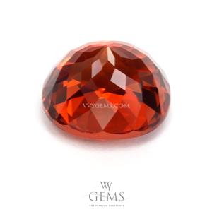 สเปสซาร์ไทด์ (Spessartite Garnet) 4.06 กะรัต สีส้ม IF ไร้ตำหนิ 2