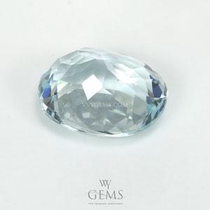 อะความารีน (Aquamarine) 2.39 กะรัต สีฟ้าอ่อน 2