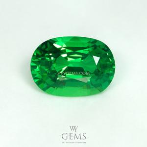 กรีน การ์เนต(Green Garnet) 1.51 กะรัต ไฟเต็มเม็ด