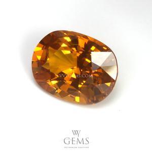 บุษราคัม(Yellow Sapphire) 3.23 กะรัต สีเหลืองทอง 1