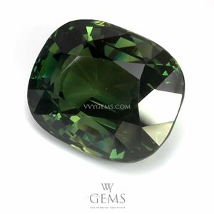 [BGL Certified]เขียวส่อง (Green Sapphire) 16.24 กะรัต รูปไข่ 1