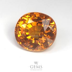 บุษราคัม(Yellow Sapphire) 4.80 กะรัต น้ำทอง 1