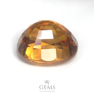 บุษราคัม(Yellow Sapphire) 4.80 กะรัต น้ำทอง 2
