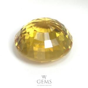 บุษราคัม(Yellow Sapphire) 4.04 กะรัต กลม 2