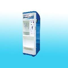 ตู้น้ำหยอดเหรียญระบบ RO 600 ลิตร/วัน โครงตู้เล็ก